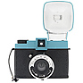 Diana F+ Film Camera and Flash (Teal/Black)