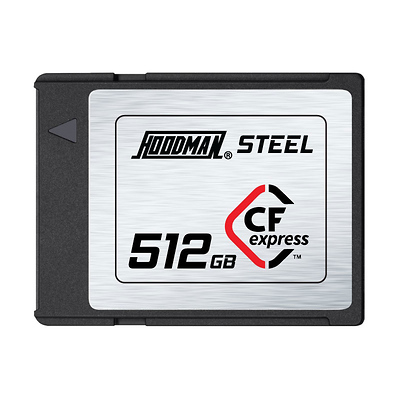 512GB Steel CFexpress Memory Card Image 0