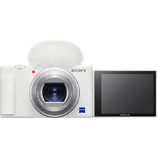ZV-1 Digital Camera (White) Image 0