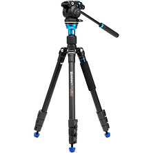 A1883F Travel Angel Aero Video Tripod Kit with S2PRO Head Image 0