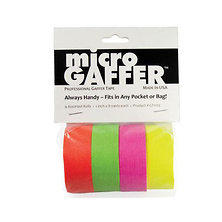 1 in. microGaffer 4-Roll Gaffer Tape - Fluorescent Image 0
