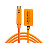 TetherBoost Pro USB-C Core Controller Extension Cable (Orange)