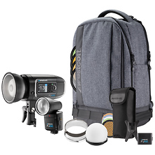 FJ80 and FJ400 Strobe 2-Light Portable Portrait Kit Image 0
