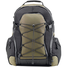 Shootout Backpack, Small (Black and Olive) Image 0