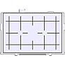 Precision Matte Grid Lines Eg-D Interchangeable Focusing Screen