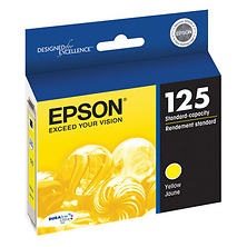 Yellow Ink Cartridge for Epson NX420 Printer Image 0