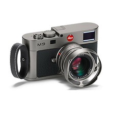 M9 'Titanium' Special Edition Digital Rangefinder Camera with 35mm F/1.4 Lens Image 0